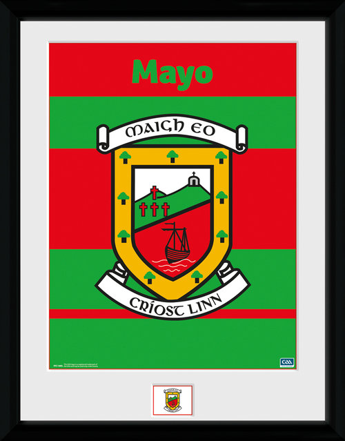 GAA Mayo Framed Collector Print