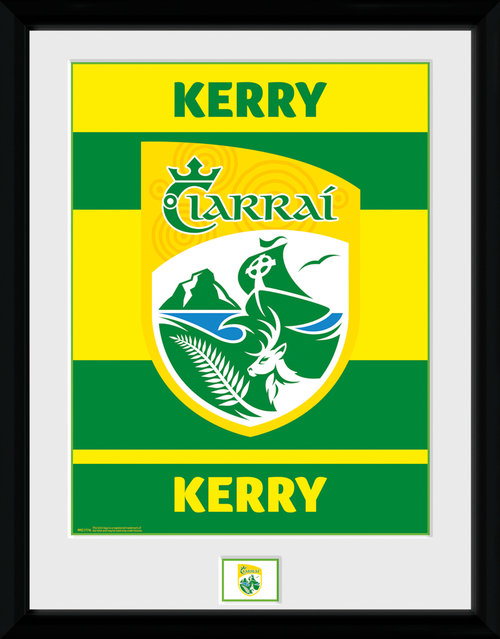 GAA Kerry Framed Collector Print