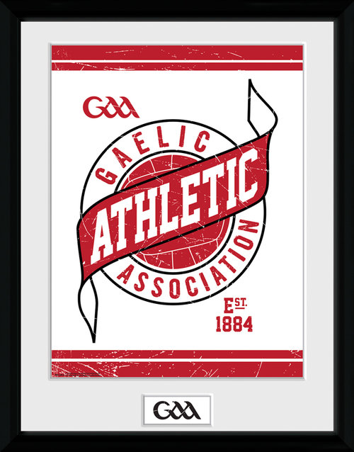 GAA Badge Framed Collector Print
