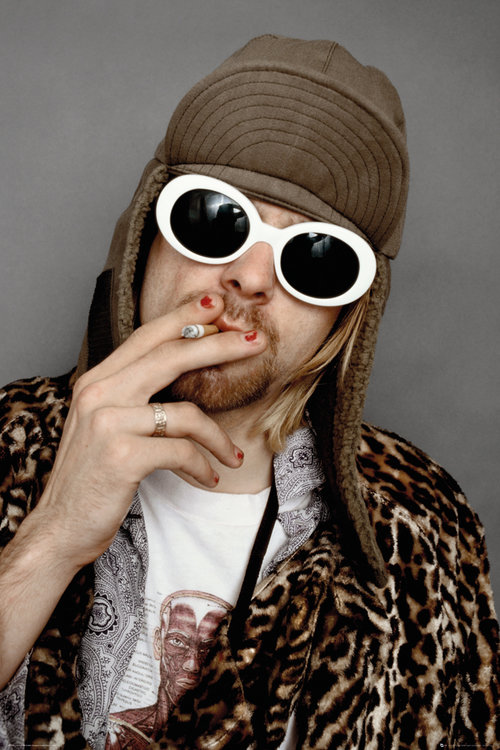 Kurt Cobain Colour Maxi Poster