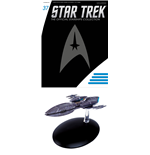 Star Trek Official Starships Collection Magazine with Model #37 Andorian Cruiser