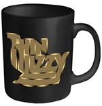 Thin Lizzy Mug Gold Logo
