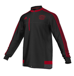 2015-2016 Bayer Leverkusen Adidas Anthem Jacket (Black)