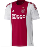 2015-2016 Ajax Adidas Home Football Shirt
