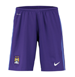 2015-2016 Man City Home Nike Goalkeeper Shorts (Purple)