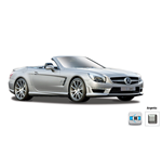 Maisto - 2012 Mercedes Benz Sl Amg 63 Convertible 1:24 Diecast Model