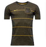 2015-2016 Barcelona Nike Neymar Replica Tee (Black Heather)