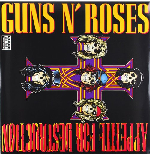 Vynil Guns N' Roses - Appetite For Destruction