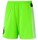 2015-2016 Ajax Adidas Away Shorts (Solar Green)