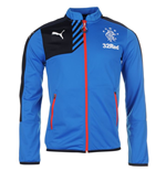 2015-2016 Rangers Puma Stadium Jacket (Blue)
