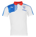 2015-2016 Rangers Puma Leisure Polo Shirt (White)