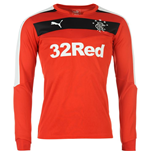 2015-2016 Rangers Away Goalkeeper Shirt (Red)