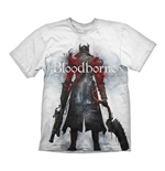 BLOODBORNE Hunter Street T-Shirt, Extra Extra Large, White