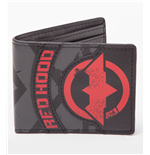 Batman Arkham Knight Wallet Red Hood Logo