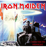 "Vynil Iron Maiden - 2 Minutes To Midnight (7"")"