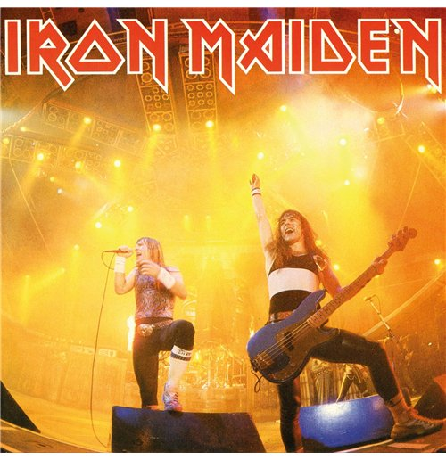"Vynil Iron Maiden - Running Free (Live) (7"")"