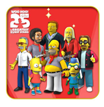 Simpsons 25th Anniversary Action Figures 13 cm Series 5 Assortment (22)