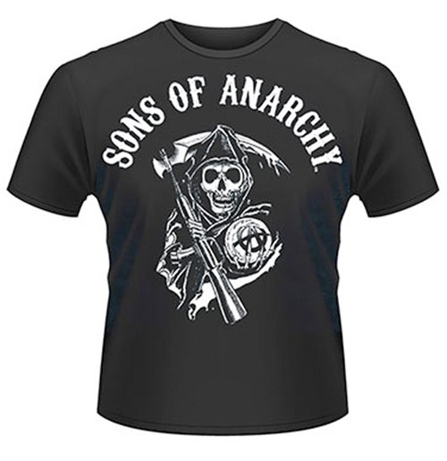 buy official sons of anarchy classic men 39 s t shirt. Black Bedroom Furniture Sets. Home Design Ideas