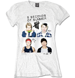 5 seconds of summer T-shirt 147304