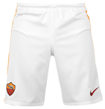 2015-2016 AS Roma Home Nike Football Shorts (Kids)