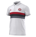 2015-2016 Bayern Munich Adidas SF Polo Shirt (White)