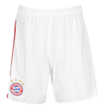 2015-2016 Bayern Munich Adidas Away Shorts (White) - Kids