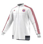 2015-2016 Bayern Munich Adidas Anthem Jacket (White)