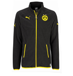 2015-2016 Borussia Dortmund Puma Full Zip Fleece (Black) - Kids