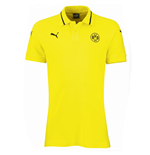 2015-2016 Borussia Dortmund Puma Casuals Polo Shirt (Yellow)