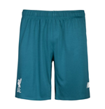 2015-2016 Liverpool Away Goalkeeper Shorts (Green) - Kids
