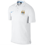 2015-2016 Man City Nike Matchup Core Polo Shirt (White)