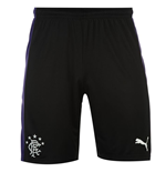 2015-2016 Rangers Third Football Shorts (Black)