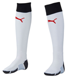 2015-2016 Rangers Goalkeeper Football Socks (White)