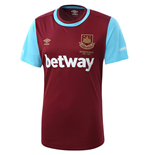 2015-2016 West Ham Home Football Shirt