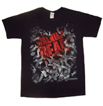 The Walking Dead T-shirt Walker Horde And Logo