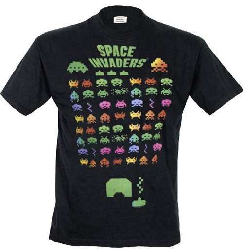 Space Invaders T-shirt 147732