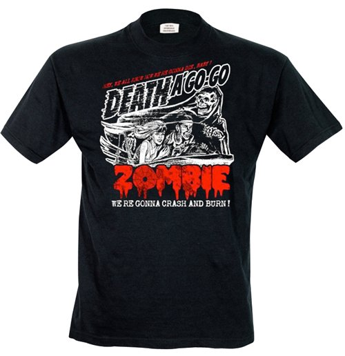 Rob Zombie - Zombie Crash Men's T-shirt
