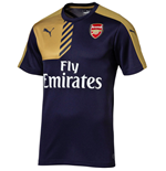 2015-2016 Arsenal Puma Training Shirt (Black Iris)