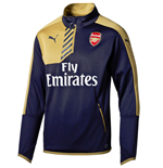 2015-2016 Arsenal Puma Quarter Zip Training Top (Navy) - Kids