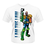 2000AD T-shirt Judge Dredd - I Am The Law 2