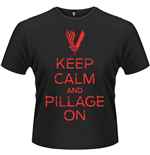 Vikings - Keep Calm T-shirt (unisex)