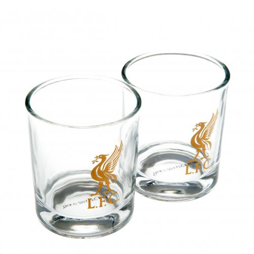 Liverpool F C 2pk Whiskey Glass Set For Only 163 12 02 At