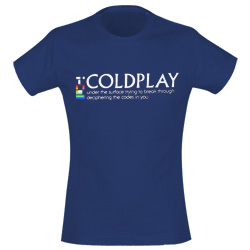 Coldplay T-shirt 148975