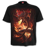 DRAGON'S Wrath - T-Shirt Black