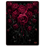 Blood Rose - Fleece Blanket
