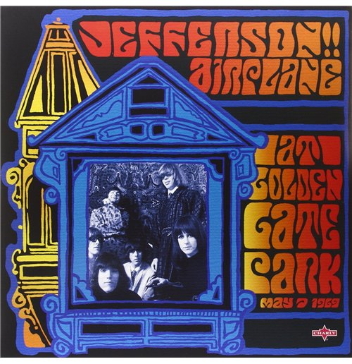 Vynil Jefferson Airplane - At Golden Gate Park (2 Lp)