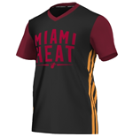 2015 Miami Heat Adidas Summer Tee (Black)