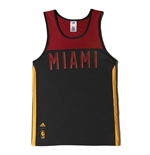 2015 Miami Heat Adidas Summer Tank Top (Black)