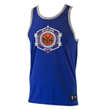 2015 New York Knicks Adidas Basketball Tank Top (Blue)