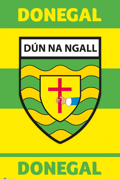 GAA Donegal Maxi Poster